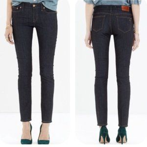Madewell Alley Straight Leg Jeans in Raw Wash 24